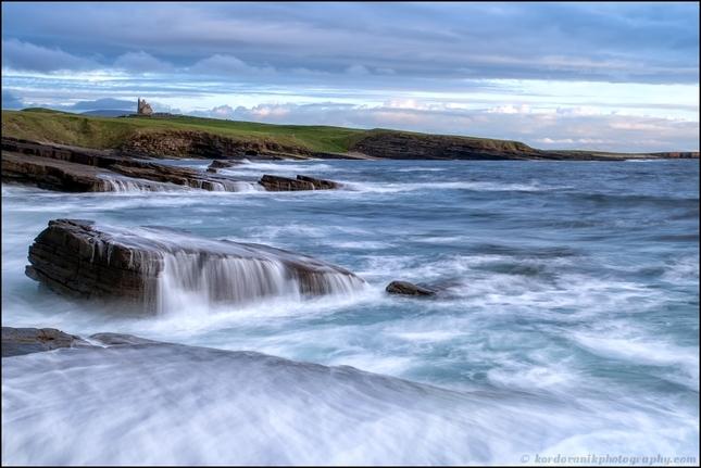 Irish coast ...