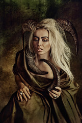 Mufloní žena III.