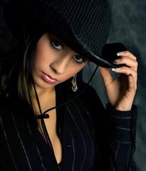 ... v klobouku ...