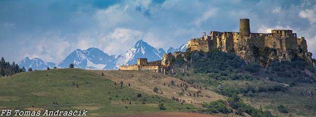 Lomničák a spišsky hrad