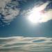 slnko a oblaky