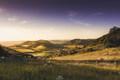 zapad nad dedinkou Chlmec