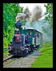 Parná lokomotíva Katka