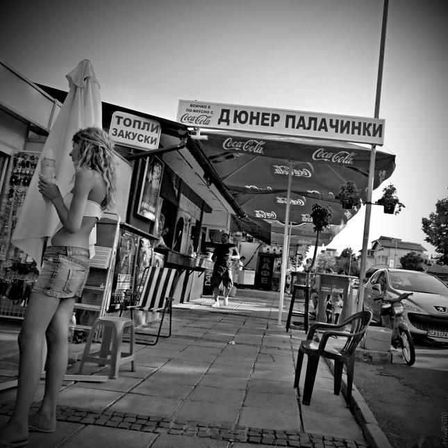 Fast Food street