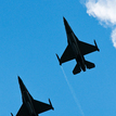 Prelet 2x F-16