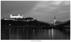 Dobrý večer Bratislava ...