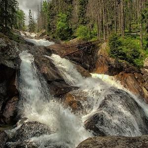 Dlhý vodopád na Studenom potoku