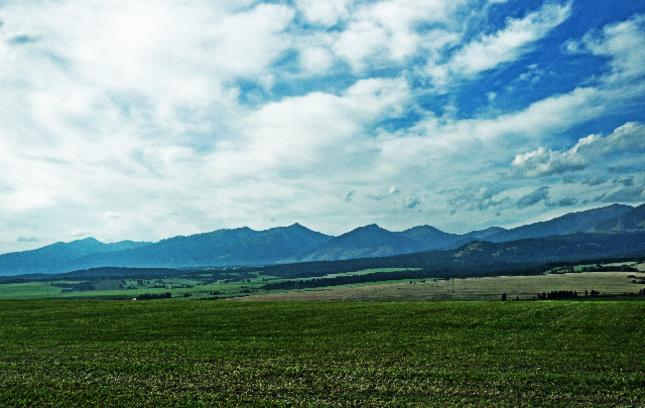 Cesta Štrba- Važec
