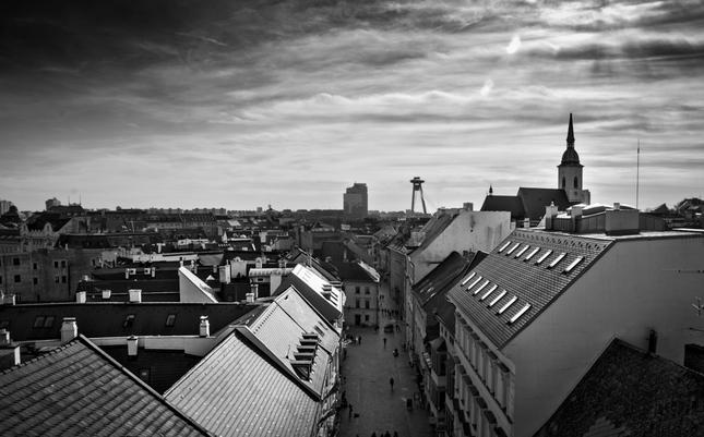Bratislava z Michalskej brany