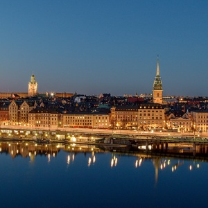 Nočný Stockholm
