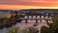 Pražský jesenný podvečer