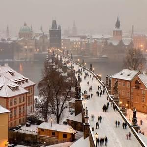 Praha trošku zimná