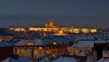 Praha zimná
