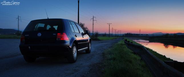 Automotive Sunset