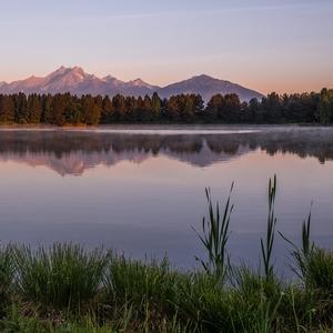 morning to lake