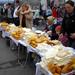 korbáče a oštiepky na trhu v Poľ