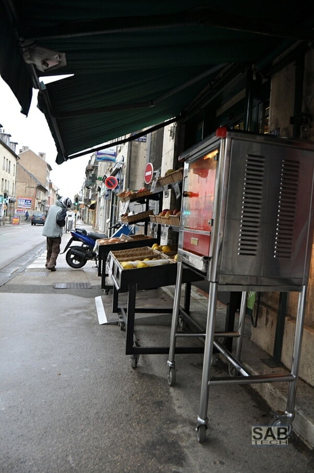 Francuzsko Besancon Marec 2012