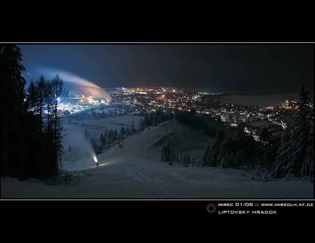 Liptovský Hrádok - Zimné večery