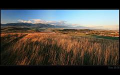 Liptovská krajina v skoru jesen