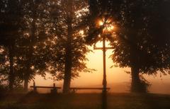 Jesenné ráno za humnami
