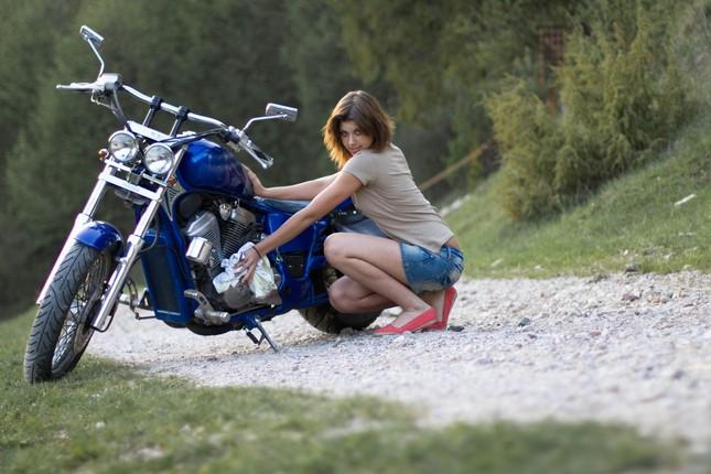 Dve kolesa a Nika
