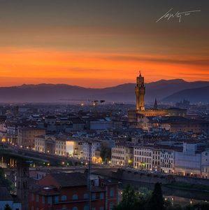 --Ponte Vecchio Sunset #2--