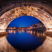 --Under the Charles Bridge--