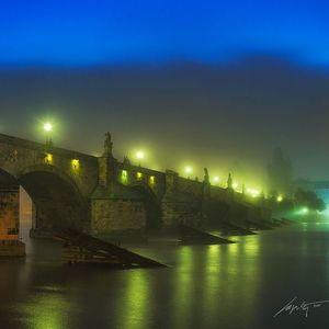 --Foggy Night--