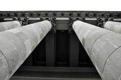 stĺpy baziliky v Egri