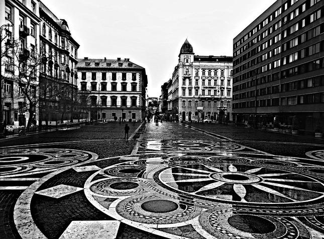 upršaná Budapest