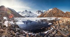 Zamrznute jazero