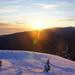 Sunset on Seymour Mountain