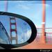 Golden Gate Bridge in Mirror