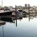 Sunset in Dock