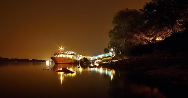 Na dolnom Dunaju lode sa túlajú.