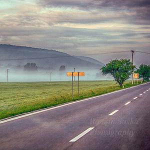 Cestou po Slovensku v hmle