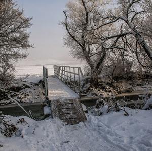 Zima pri Lutilskom Potoku