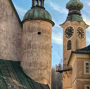 Banská Štiavnica a jej veže
