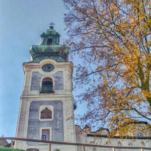 Starý Zámok na jeseň