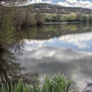 Jar na Mŕtvom Ramene rieky Hron