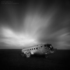 Airplane Wreckage II, Iceland