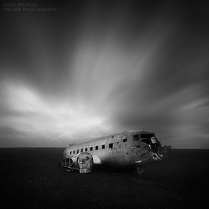 Airplane Wreckage II, Iceland