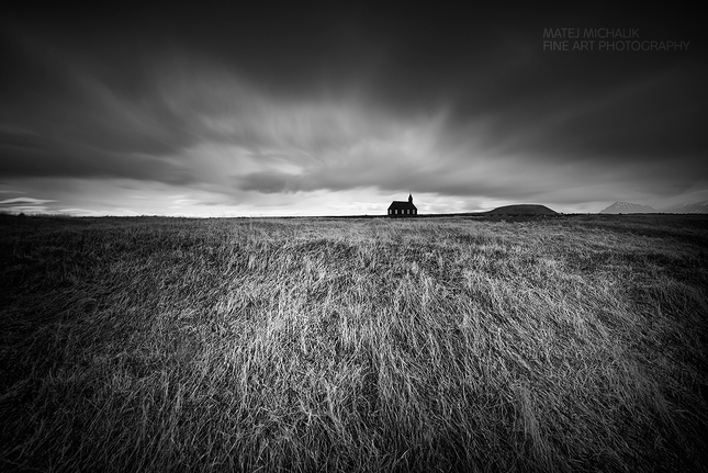 Church near Budir, Iceland