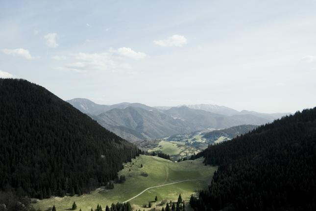 výhľad z Krkavej skaly