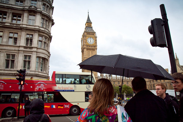 London - mesto plne pohybu