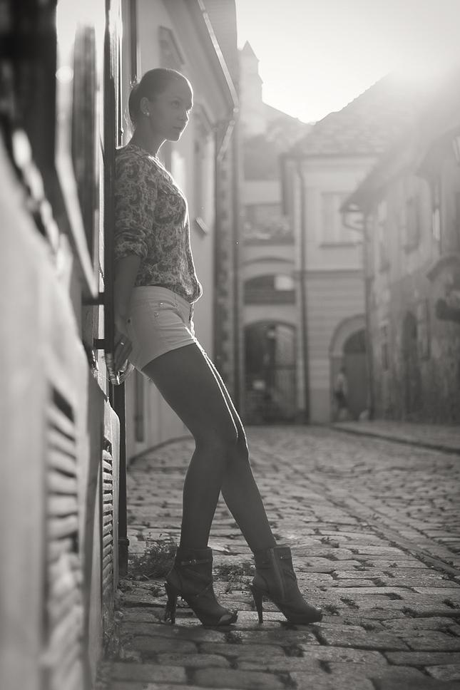 Veronika v ulicke