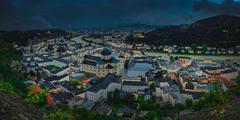 Daždivý deň v Salzburgu
