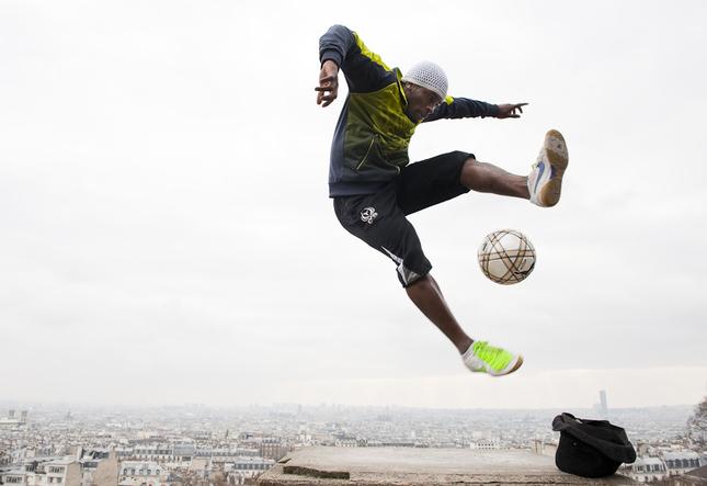 Futbal nad Parizom