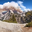 Yosemite in fire