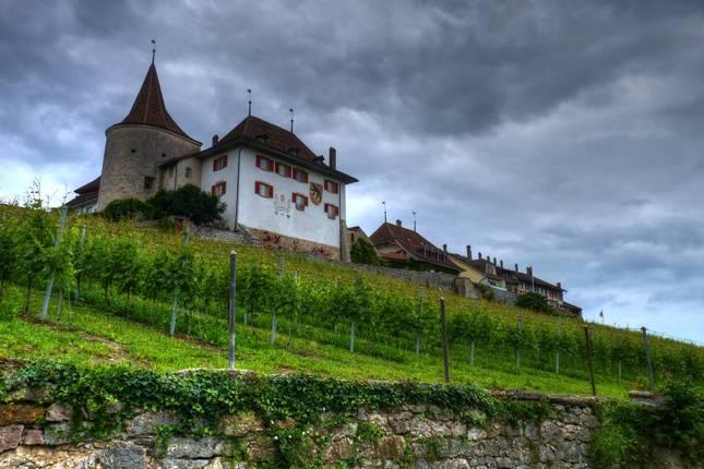 Altstadt in Erlach